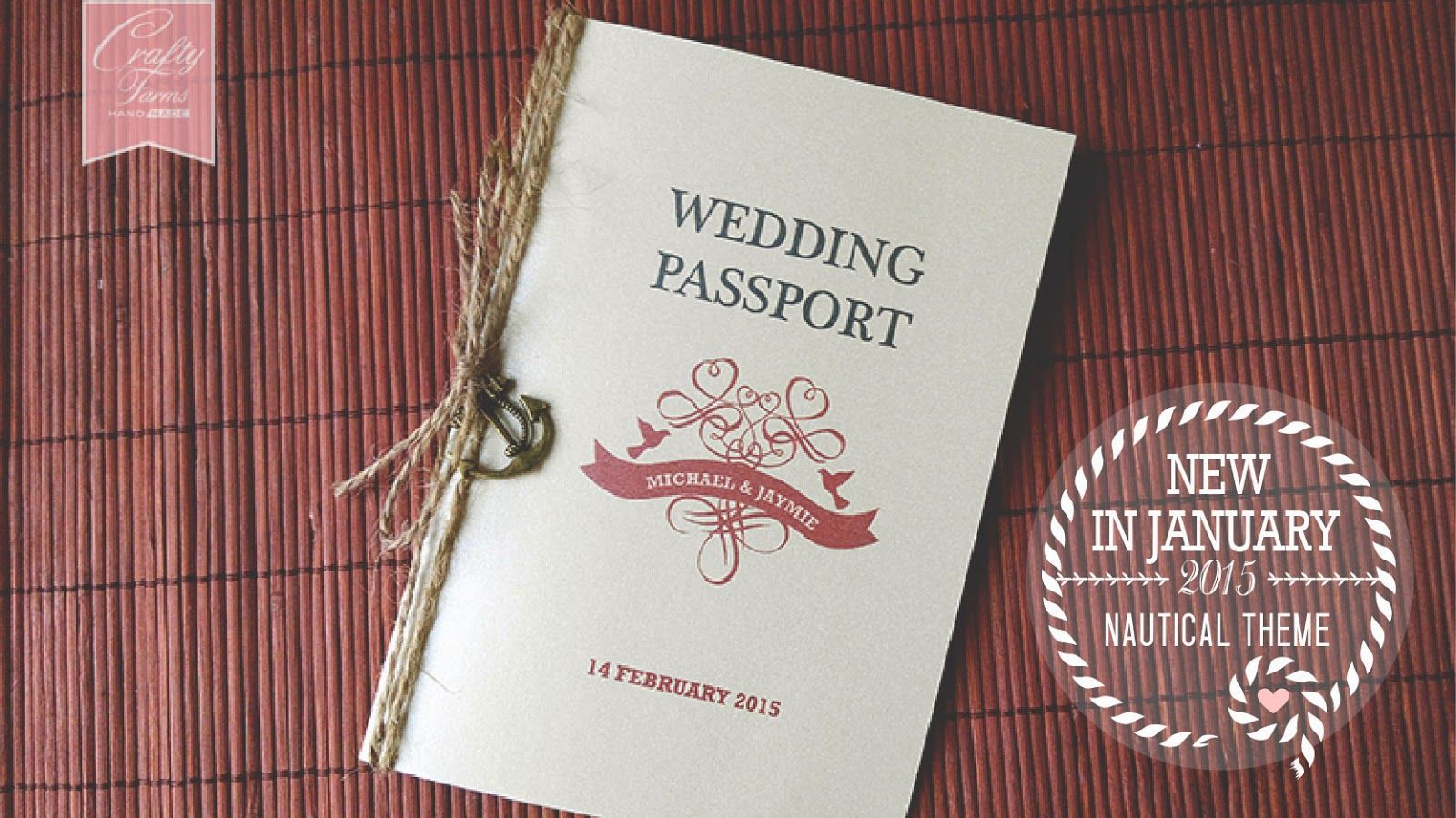 Vintage nautical passport wedding card with anchor charm wedding vintage nautical passport wedding card anchor charm 12 best free home design idea inspiration stopboris Gallery