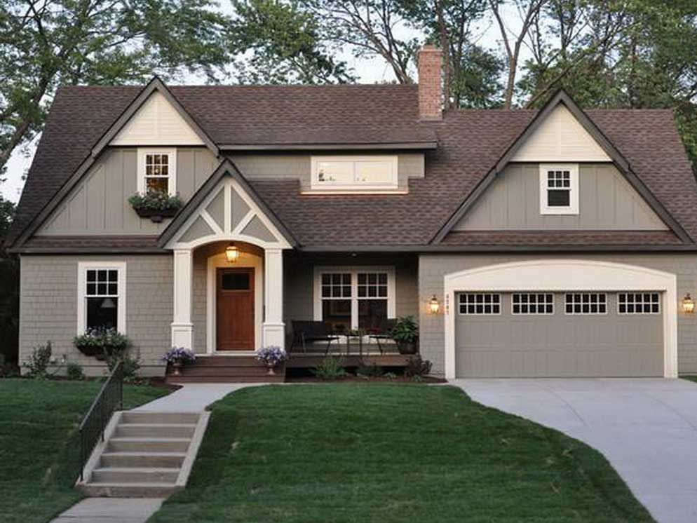 Our Roof Color Is Lighter House Paint Exterior House Exterior Exterior Paint Colors For House