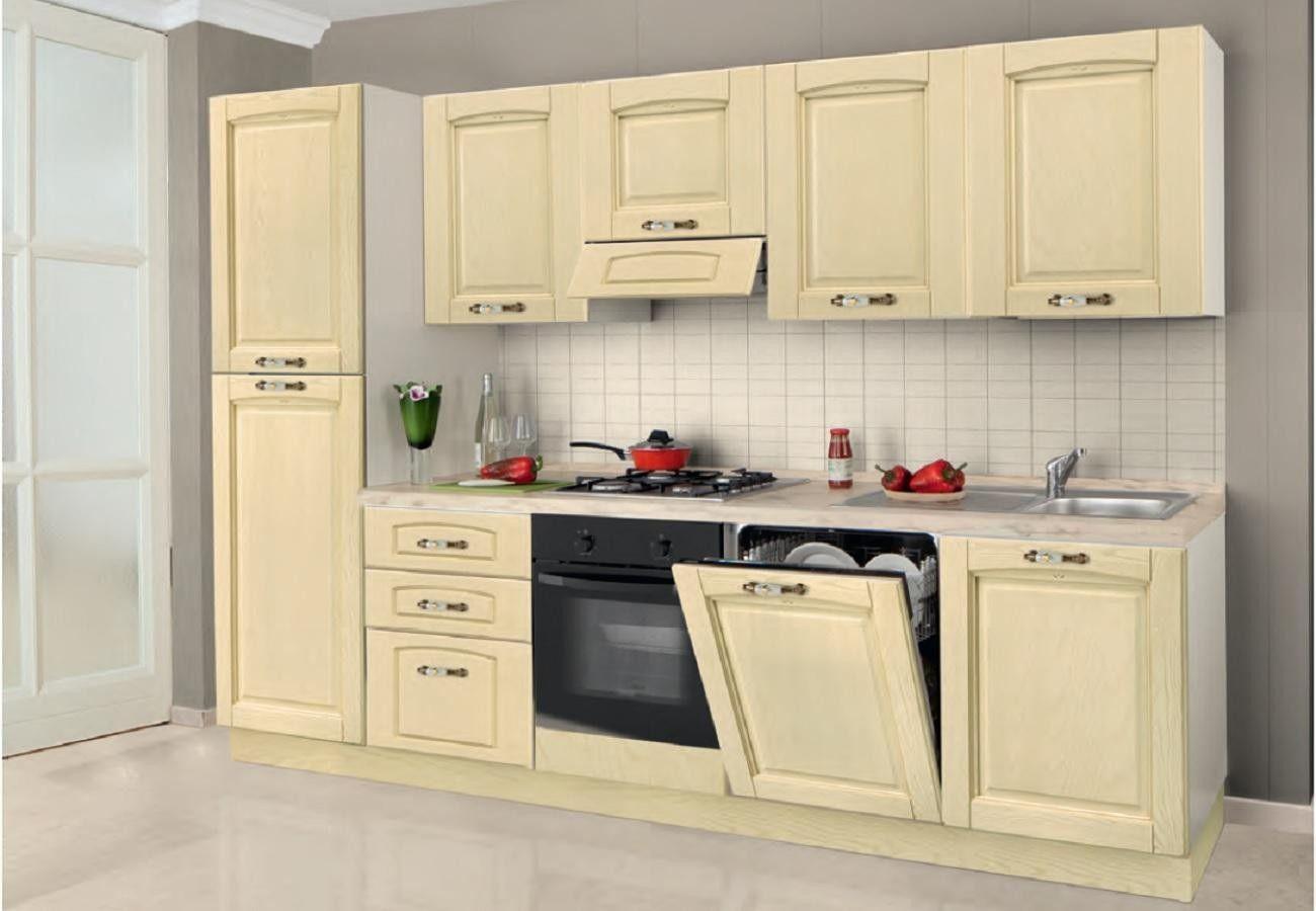 Cucina Bea L 300 x H 240 | Cucine Classiche | Pinterest