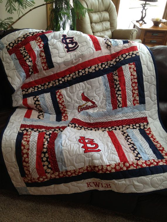 Items Similar To St Louis Cardinals Throw Or Blanket On Etsy Awesome St Louis Cardinals Throw Blanket