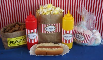 Circus Food Ideas For Your Murder Under The Big Top Party Murder