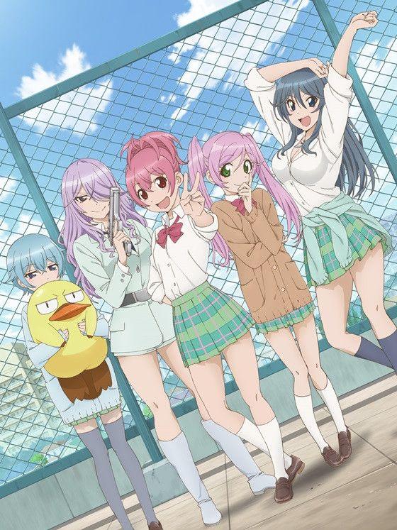 "New Key Visual for Summer 2014 TV Anime ""Sabagebu"