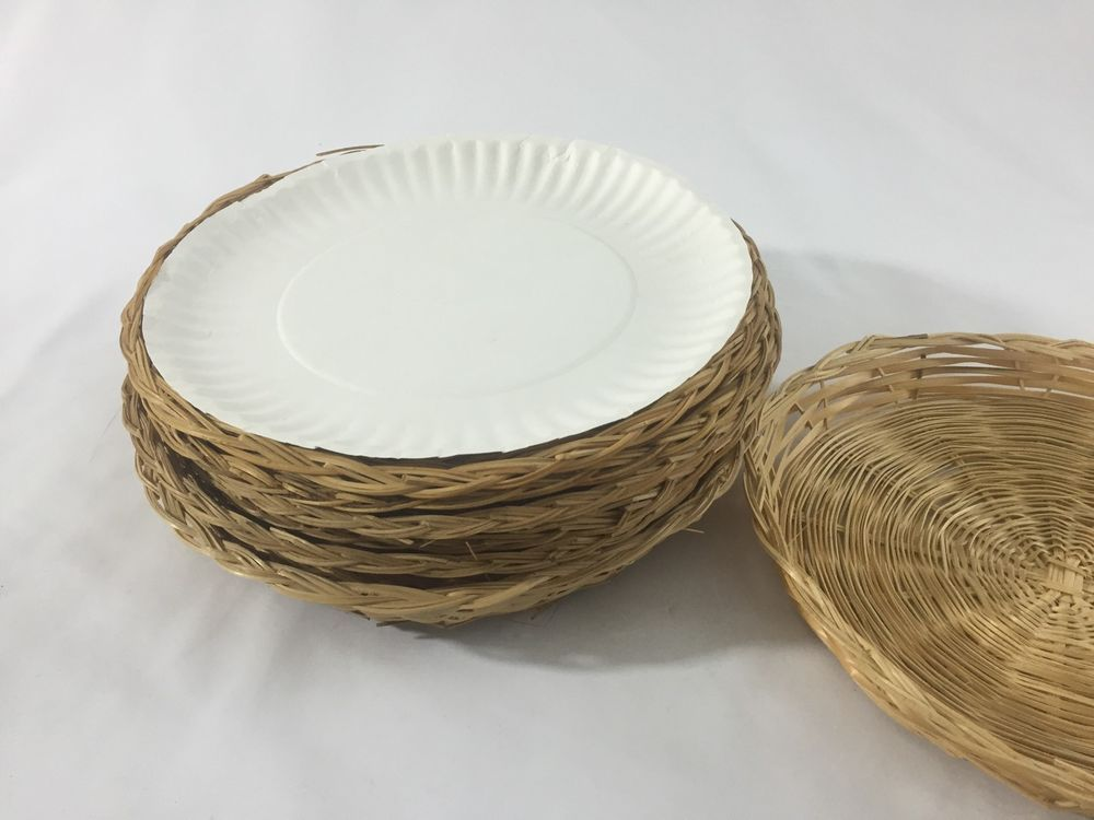 8 Wicker Paper Plate Holders Straw Plates Picnic Ware 9 3 4\  | eBay & 8 Wicker Paper Plate Holders Straw Plates Picnic Ware 9 3 4"|1000|750|?|en|2|7628adf15ef722129a7a38b07e49765f|False|UNLIKELY|0.3505899906158447