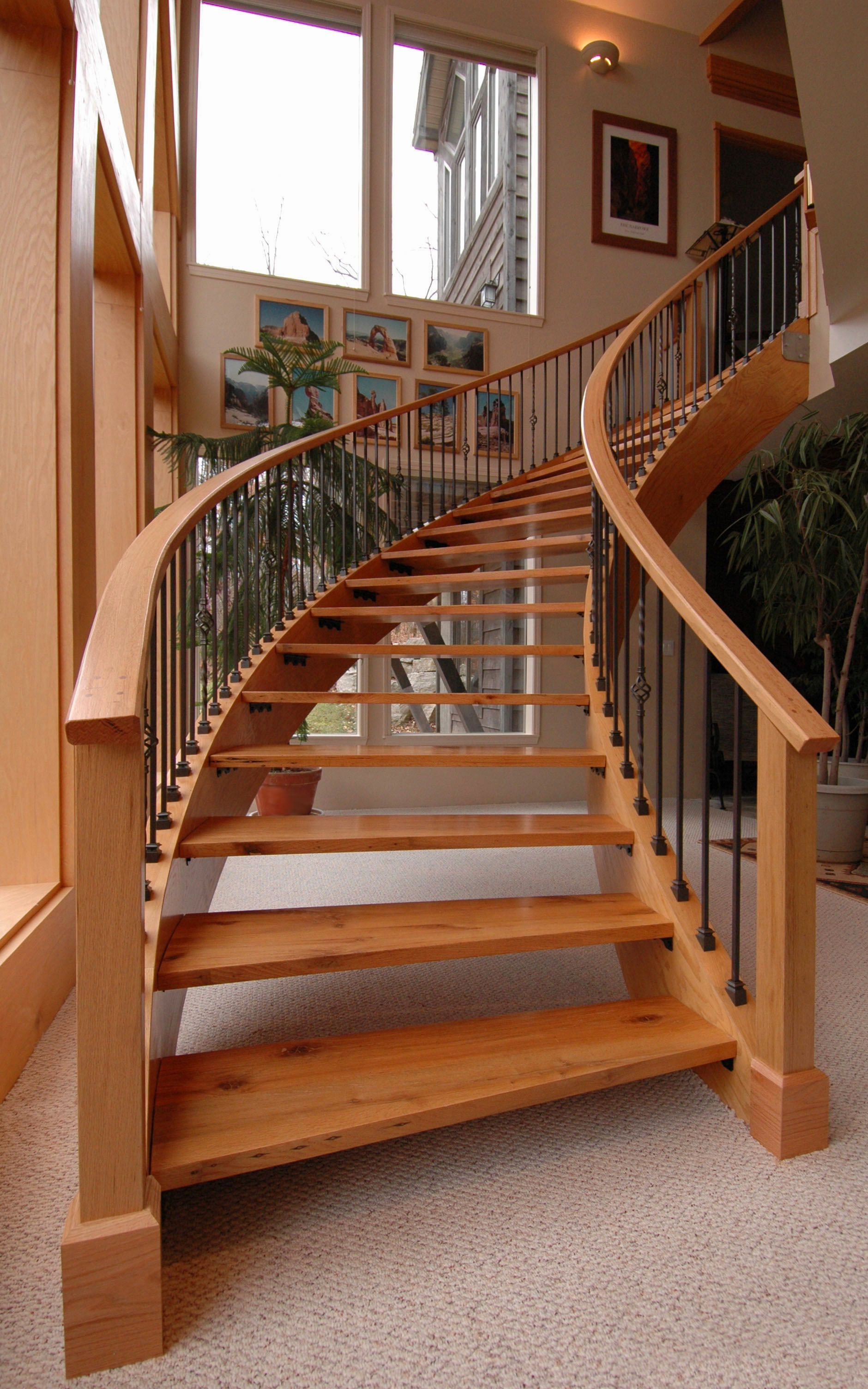 Best Radius Staircase By Joe Hawkins Curved Staircase Stairs 640 x 480