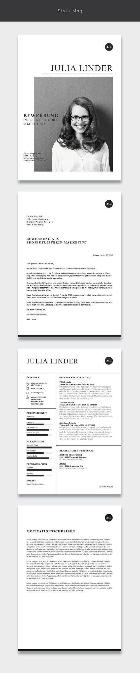 Ab Jetzt Neu In Unserem Shop Die Bewerbungsvorlage Cvtemplate Style Mag Magazin Fashion Und Business Die Vo Lebenslauf Bewerbung Lebenslauf Template
