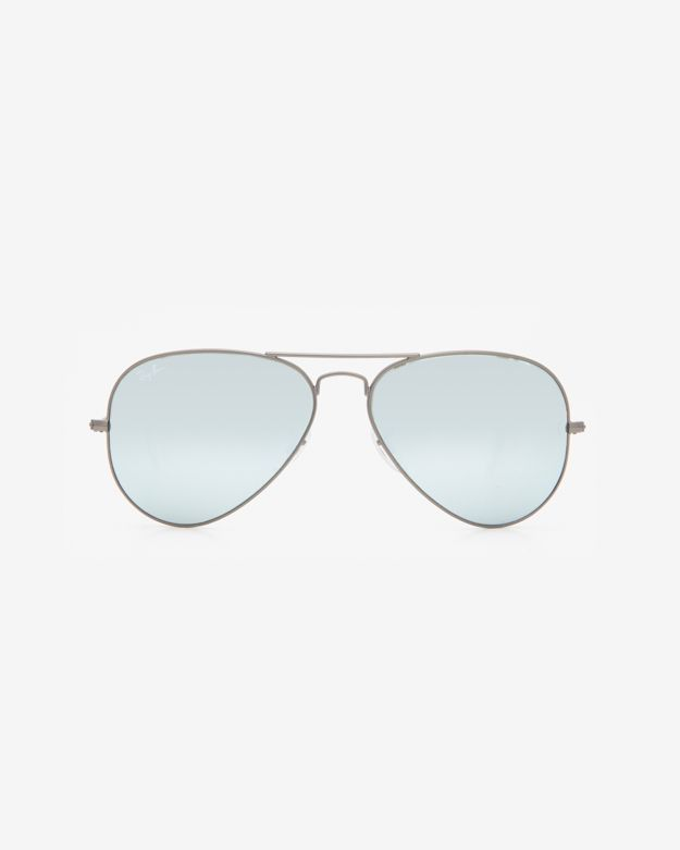 Ray-Ban Original Aviator Sunglasses: Silver by: Ray-Ban