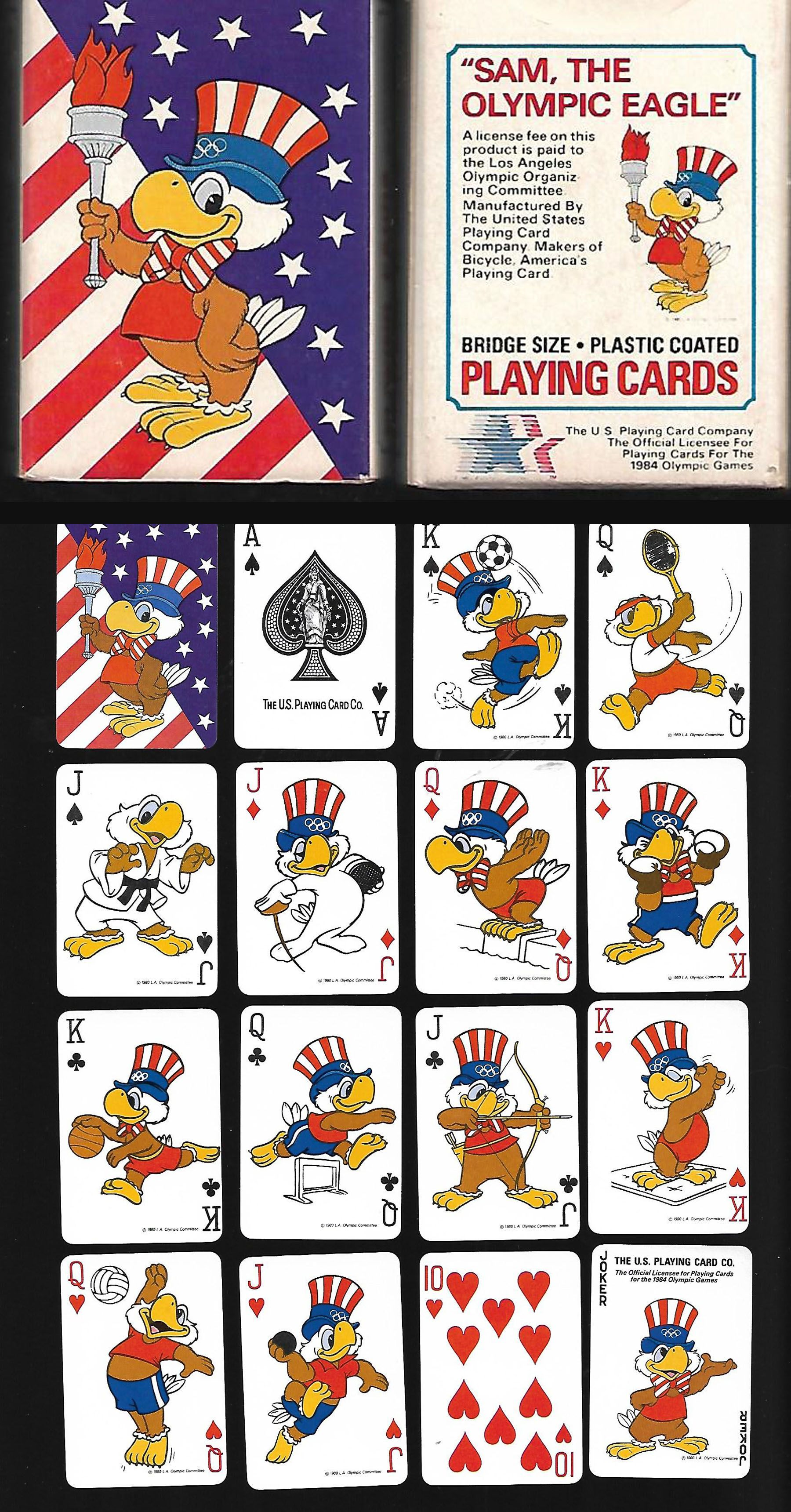 standard poker card size