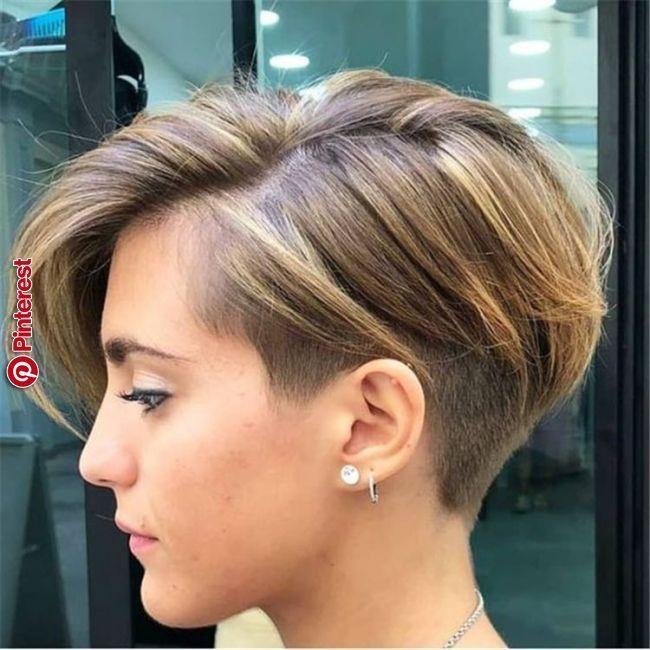 40 Einzigartige Schicke Undercut Frisuren Designs Designs Einzigartige Frisuren Hairstyle Schicke Undercut Bob Frisur Haarschnitt Pixie Frisur