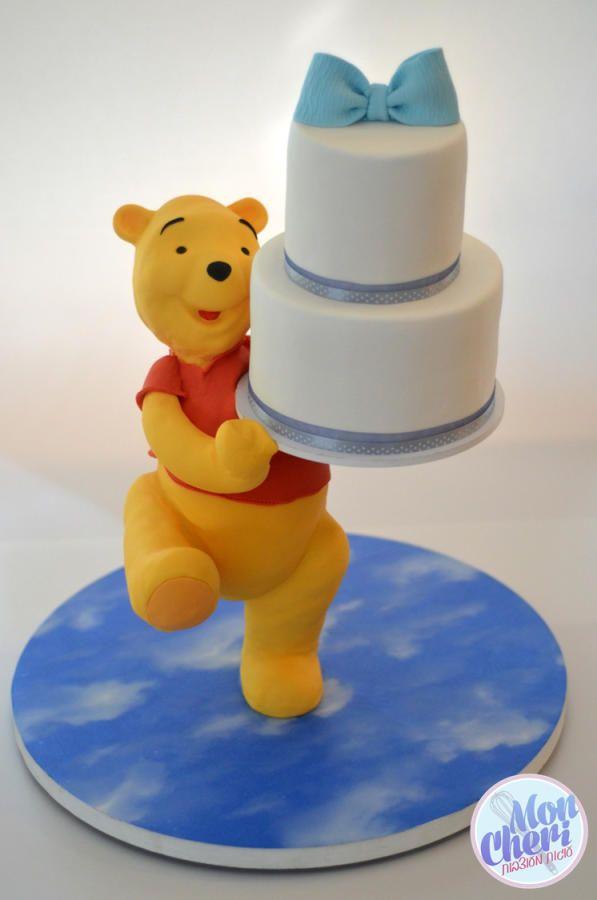 Winnie the pooh  - Cake by Mon Cheri Cakes #gravitycake