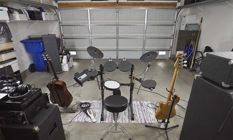 The Ultimate Guide On How To Soundproof A Garage Band Rooms Sound Proofing Drum Room