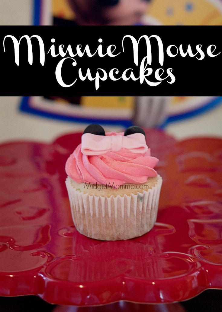 Minnie Mouse Cupcakes Step By Step Directions On How To