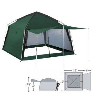 Yanes Kuche Kitchen Tent 12 X 12 X 7 6 With Rain Panels Screen