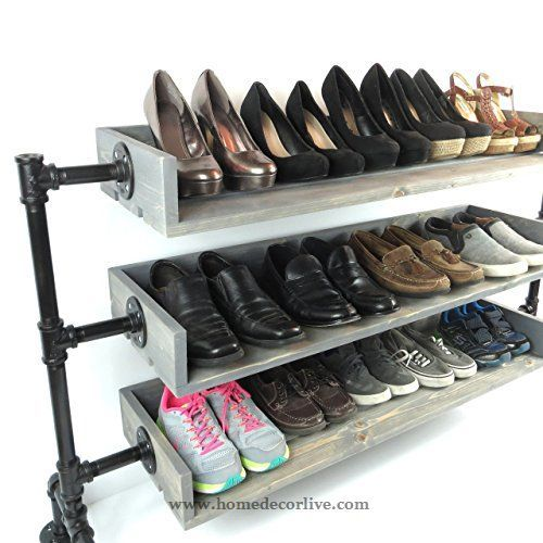 Elegant 50 Creative And Unique Shoe Rack Ideas For Small Spaces