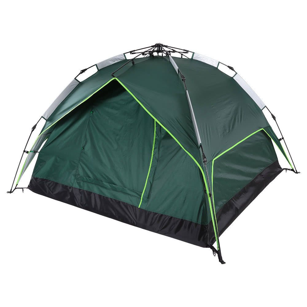 Automatic Tent WaterResistant Dual Purpose Green Quick
