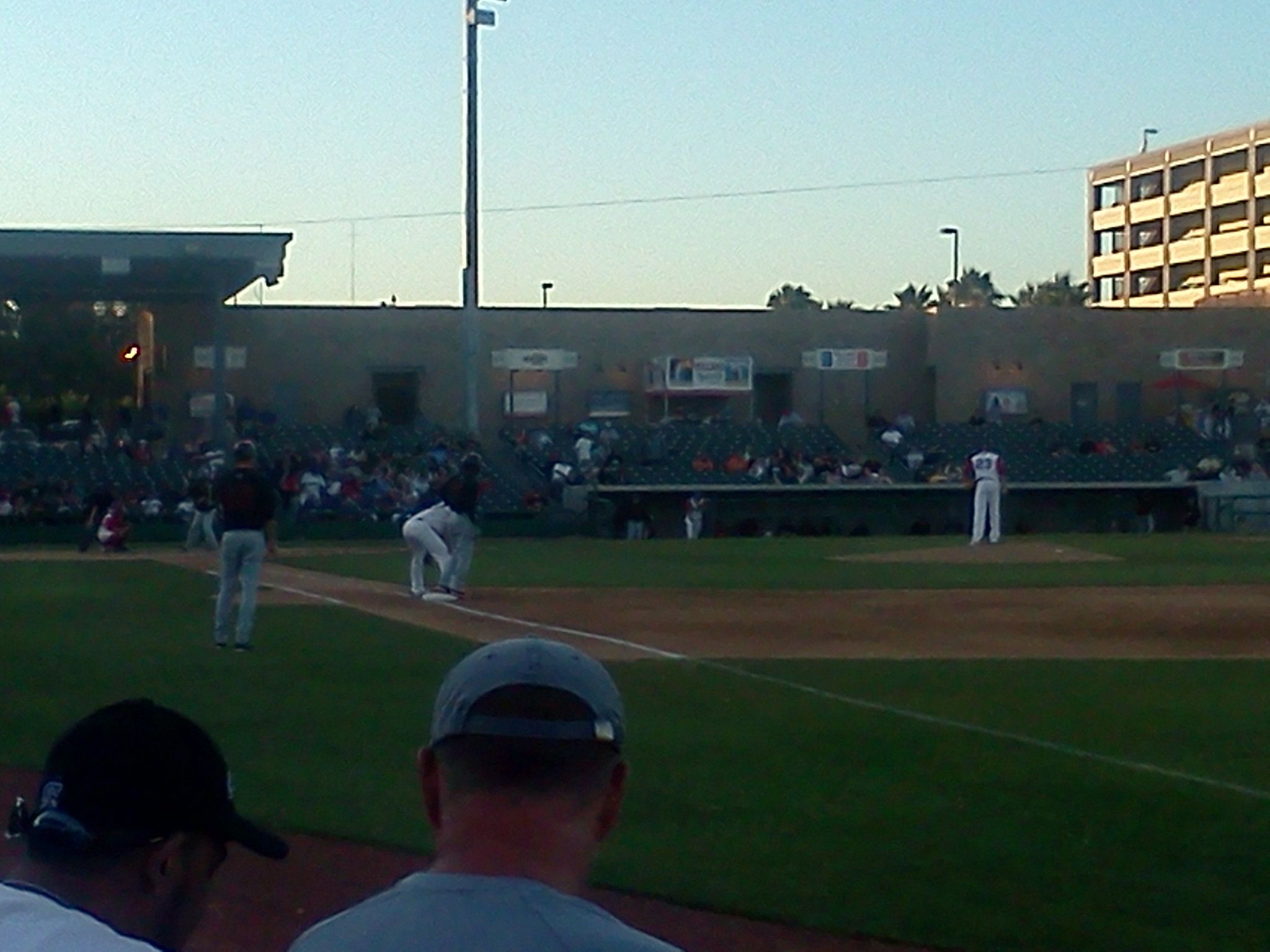 Section I sit in every time I can because of the Heckler!  #baseball #StocktonPorts
