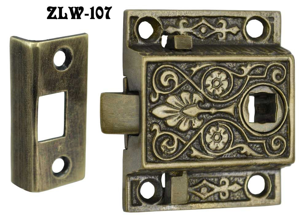 Victorian Screen Door Latch Reproduction Antique in solid brass is a ...