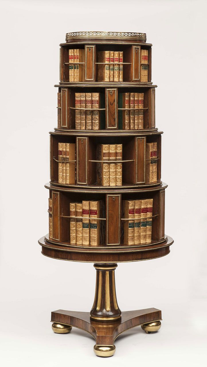 rotating designs home ideas bookcase best revolving decor amazing