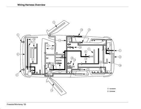 2004 ford freestar pcm wiring diagram ground 2004