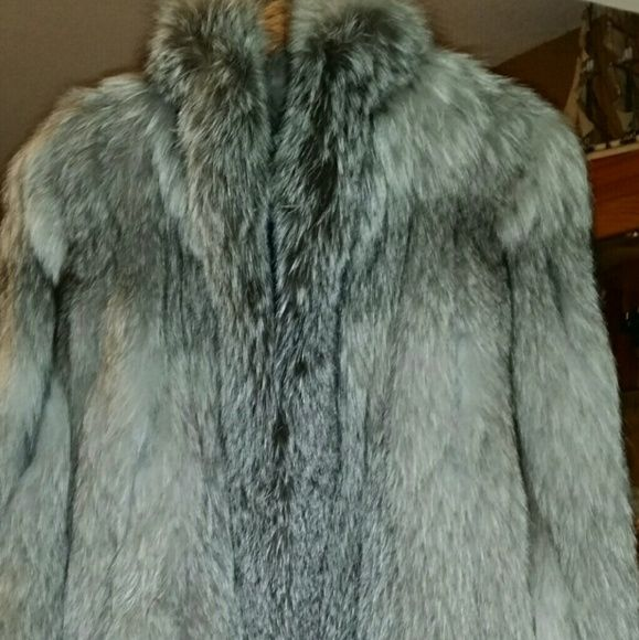 Chanel Fur/Norwegian Silver Fox Genuine/ Excellent Condition. CHANEL Jackets & Coats