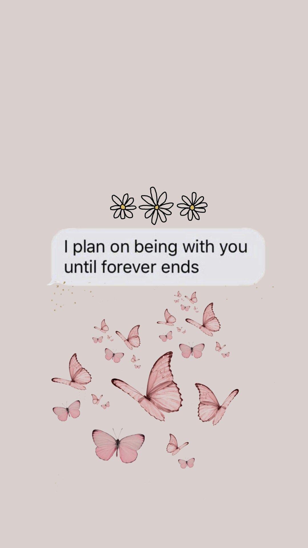To My Crush In 2020 Butterfly Wallpaper Flower Iphone Wallpaper Wallpaper