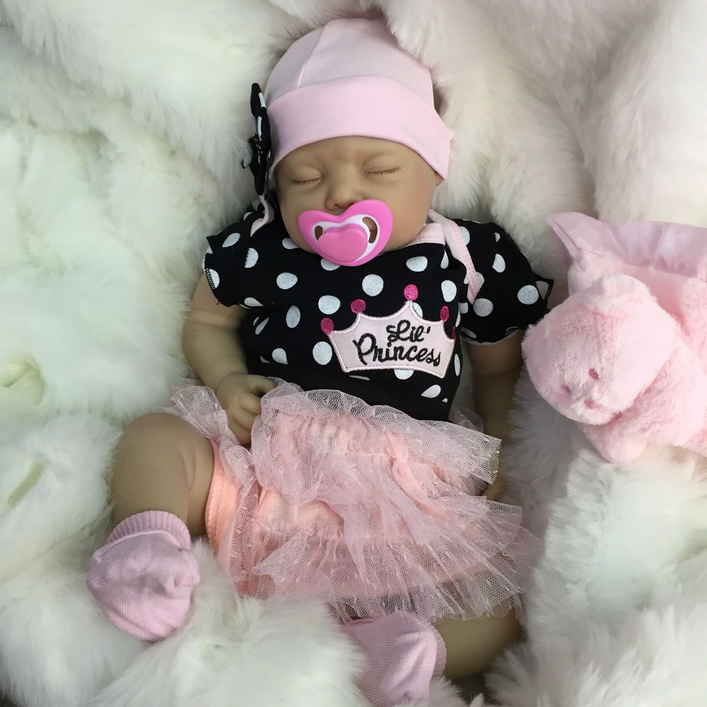 "Reborn dolls cheap baby girl realistic 22"" newborn real"
