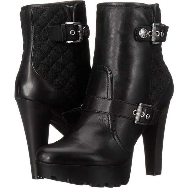 Womens Boots GUESS Dreww Black Leather