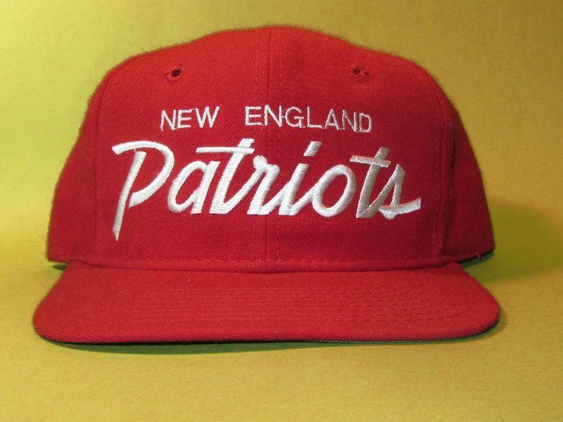 Sports Specialties Script Snapback Hat - New England Patriots - 1990s 90cd6eda3b8