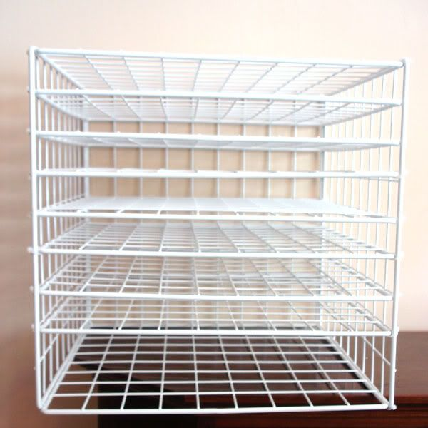 Creating Scrapbook Paper Storage From Wire Cubes. Exactly What I Needed:  Storage For My