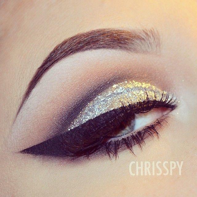 Maquillaje de Ojos con Brillo 5