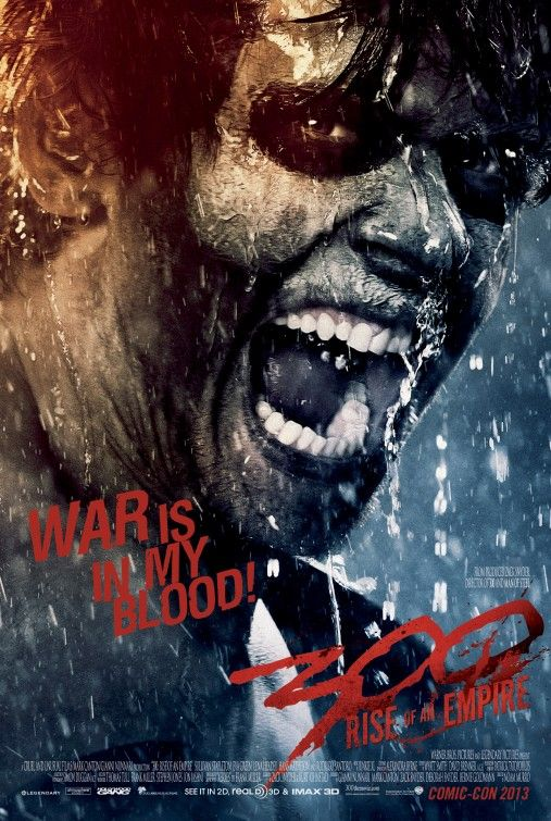 300 Rise Of An Empire Movie Poster Filmes De Terror