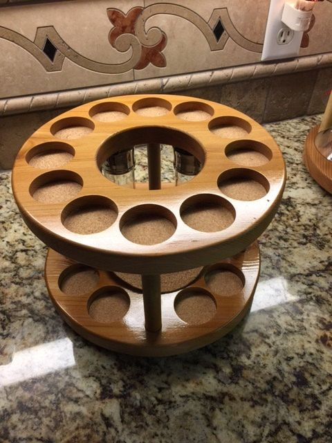 Lazy Susan Spice Rack Cool Decorative Spice Rack  Lazy Susand&c Designs  Clutter Design Decoration