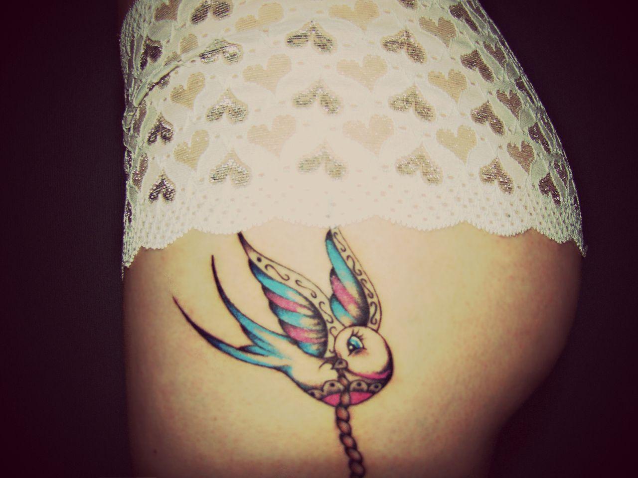 Tumblr Tattoos Tattoo Art colorful bird Tattoo Pinterest