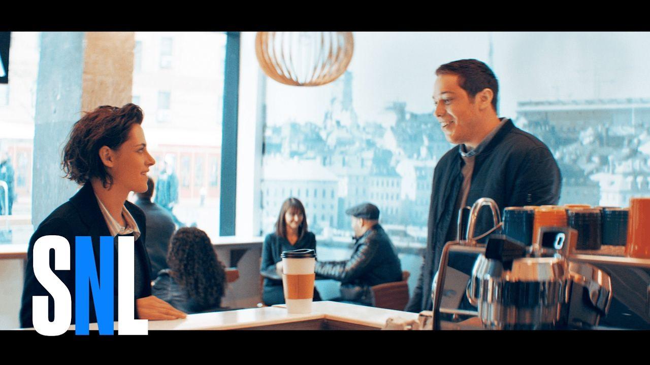 Meet Cute SNL (Kristen Stewart and Pete Davidson) Snl