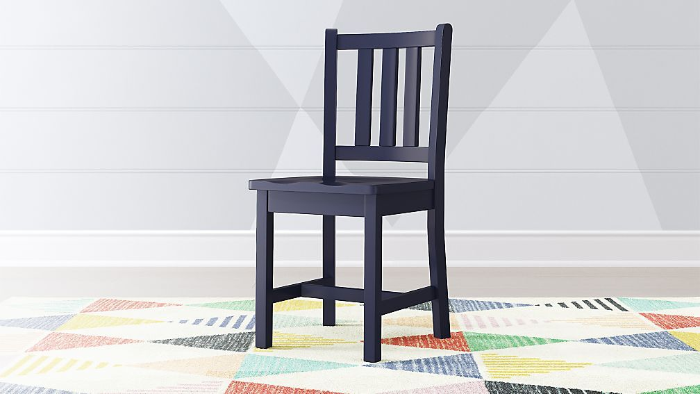 Magnificent Parker Navy Blue Kids Desk Chair Crate And Barrel Gmtry Best Dining Table And Chair Ideas Images Gmtryco