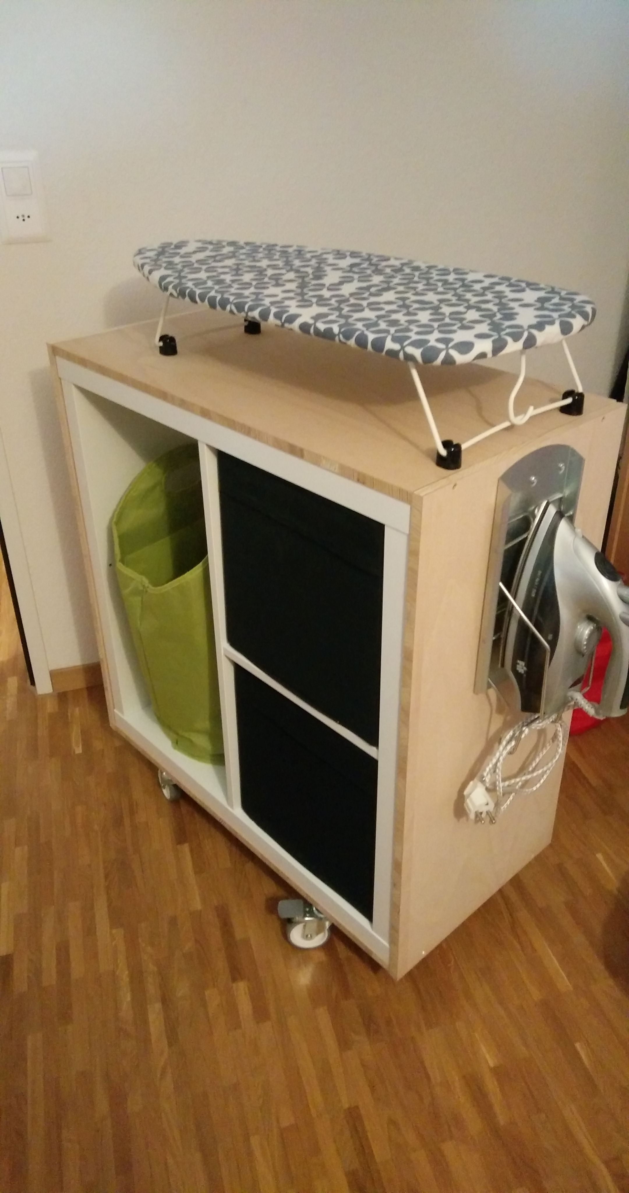 ikea hack iron station by kallax new house ideas in 2019 ikea hack ikea kallax. Black Bedroom Furniture Sets. Home Design Ideas