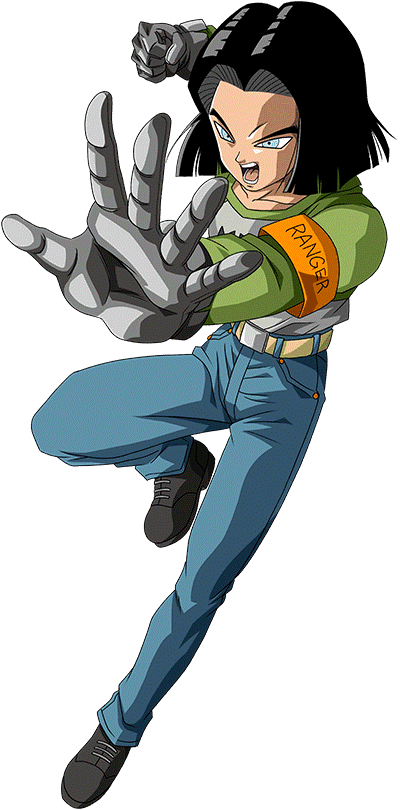 Android 17 Tournament Of Power Saga Render 3 By Maxiuchiha22 On Deviantart Dragon Ball Art Dragon Ball Super Dragon Ball Z