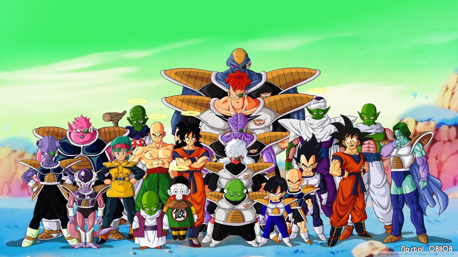Saiyan Saga Dragon Ball Z Movies Shows Desktop Wallpapers Cartoon Dragon Ball Wallpapers Anime Dragon Ball Z Wallpaper
