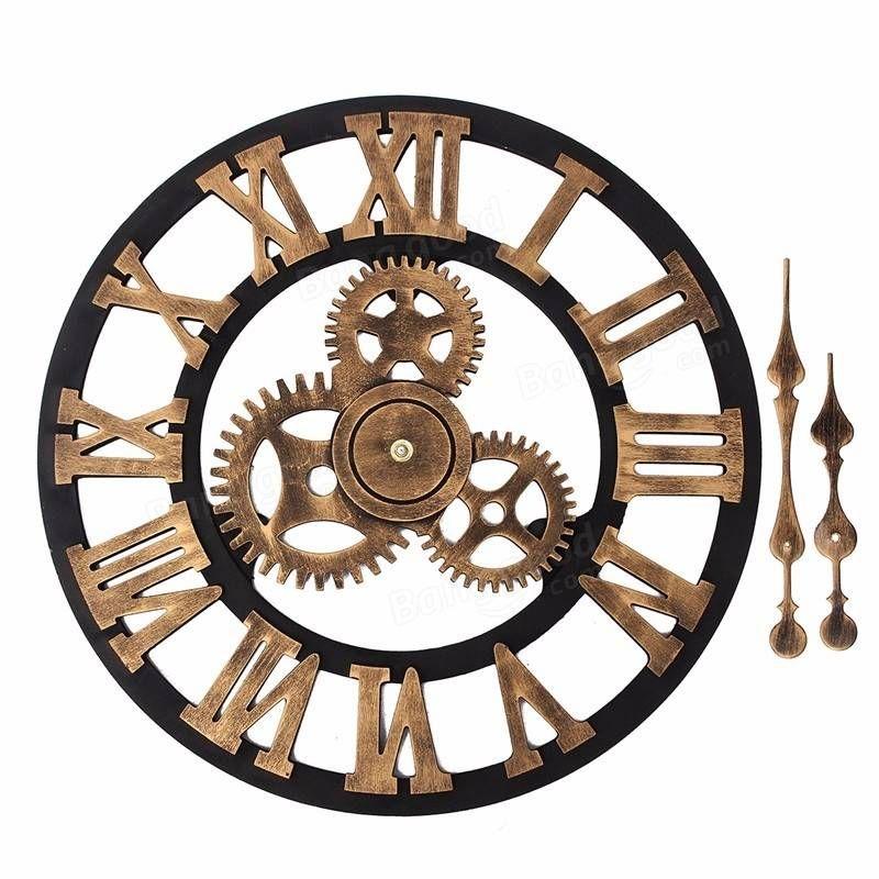 Pin By Alejandra Aliaga On Stimpank Wall Clock Clock Decor