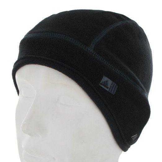 1581748d Amazon.com: adidas Men's Super Glacial Beanie, Black/Dark Onix, One ...