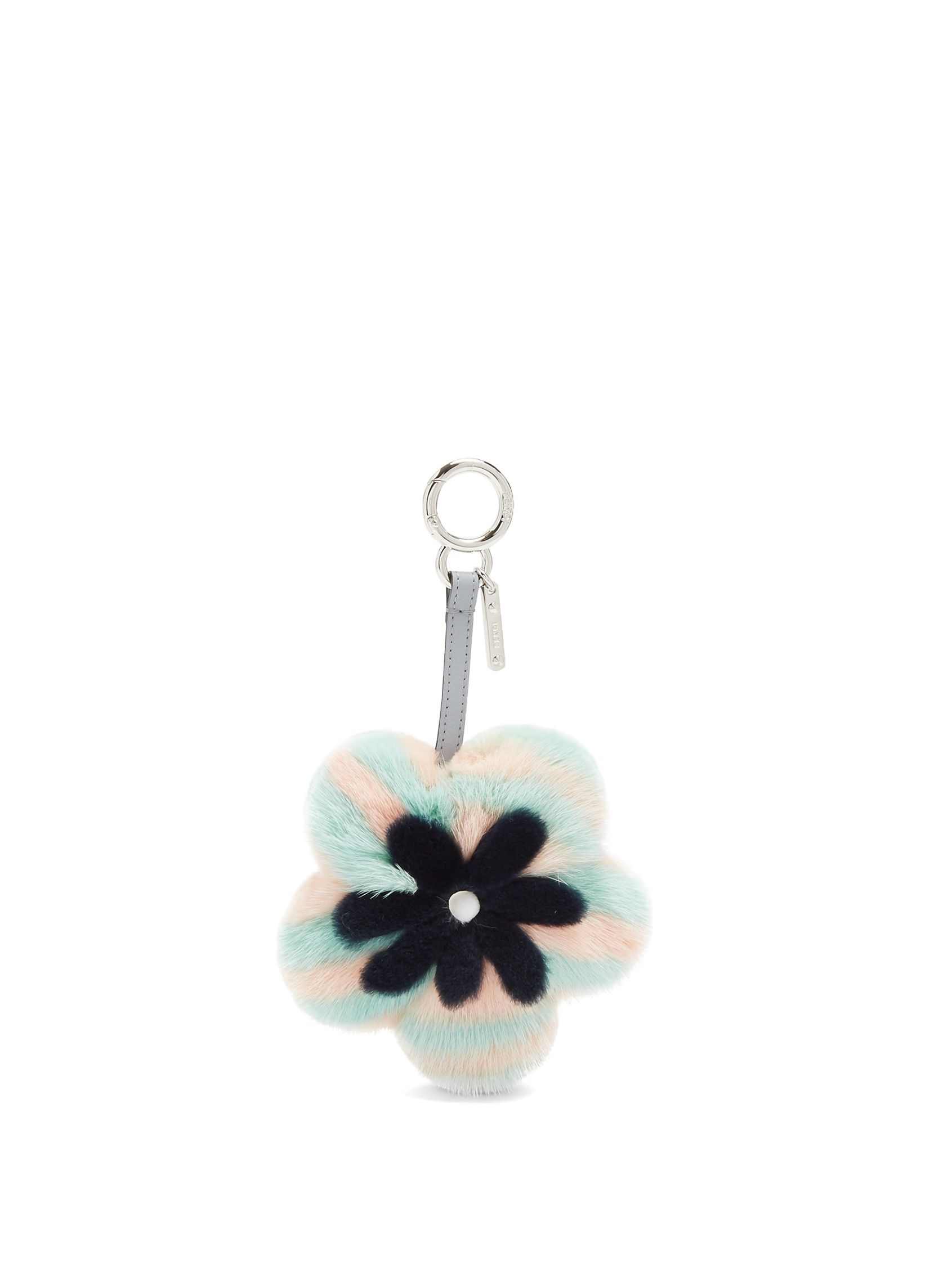 5ea9841b33 Flower fur key fob