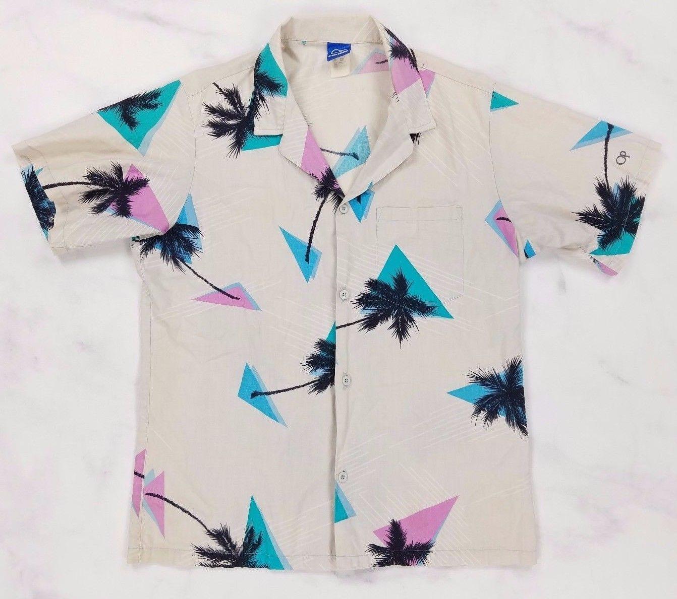Vintage OP Ocean Pacific Banana Tropical Fruit Shirt
