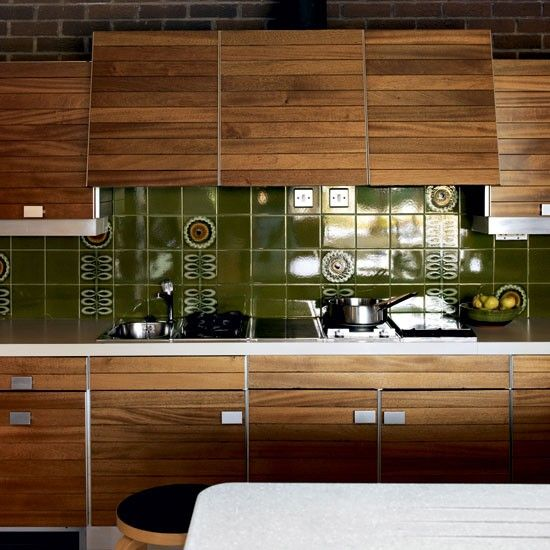 A Mid-Century Inspired Bungalow | Bungalow kitchen, Bungalow and Mid ...