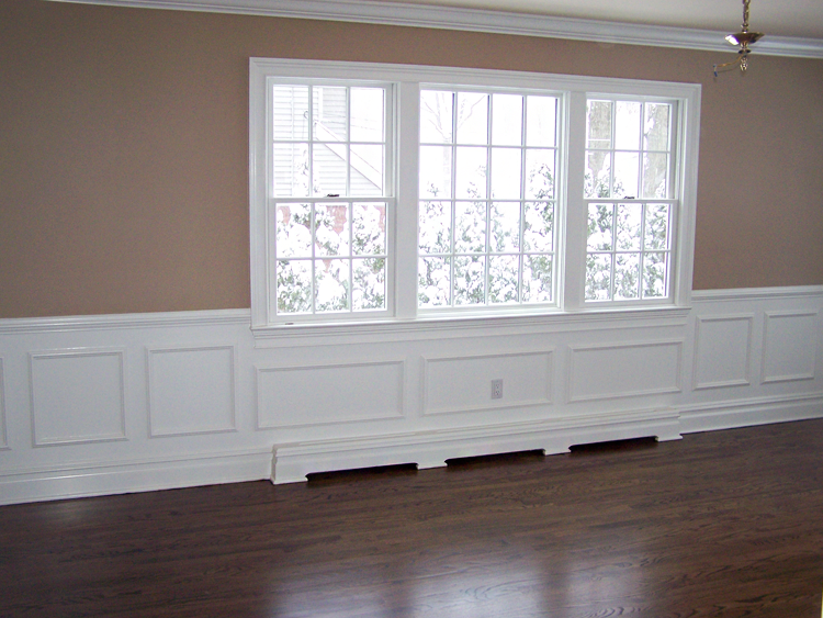 Blending With Rest Of Molding Baseboard Heater Solution