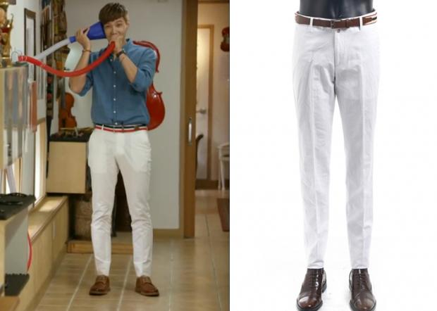 "Ji Hyun-Woo 지현우 in ""Trot Lovers"" Episode 8.  Comodo Square White Pants #Kdrama #TrotLovers 트로트의연인 #JiHyunWoo"