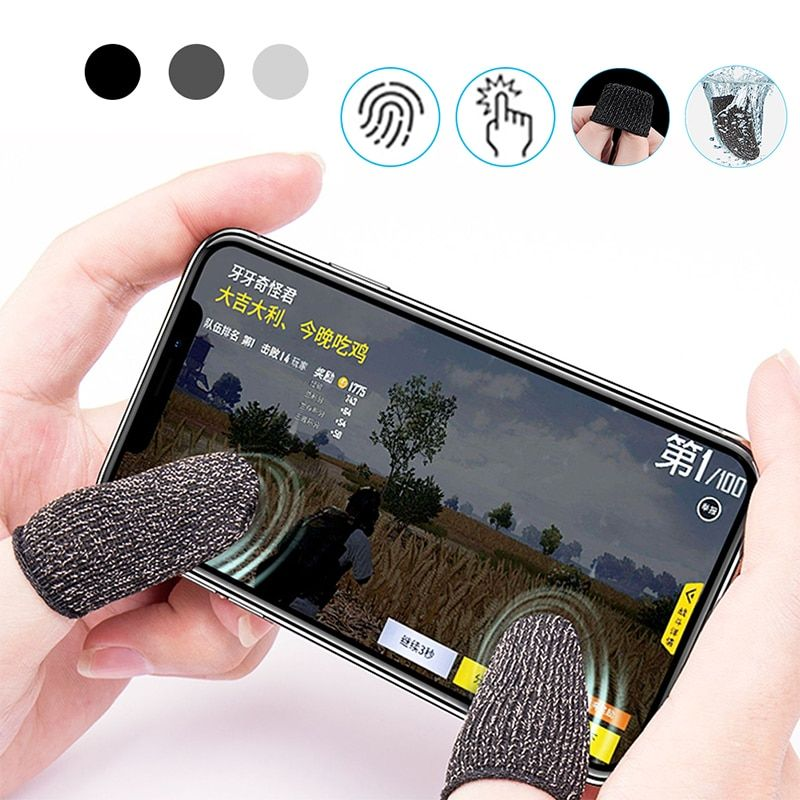 Breathable Mobile Game Controller Finger Sleeve Touch Trigger For Fortnite Pubg Game Controller Iphone Shop Mobile Game