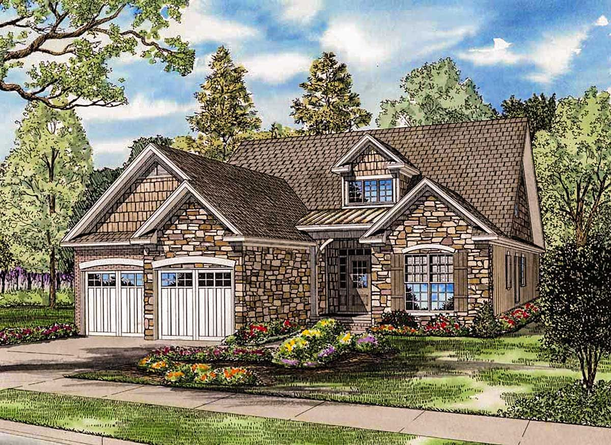 Charming Stone Cottage with Bonus Level - 60536ND ... on narrow house, narrow home blueprints, shallow lot house plans, cottage house plans, victorian house plans, narrow prefab homes, florida house plans, narrow building, narrow furniture, thin house plans, narrow drop leaf table, narrow home elevations, narrow home design, narrow kitchen design,