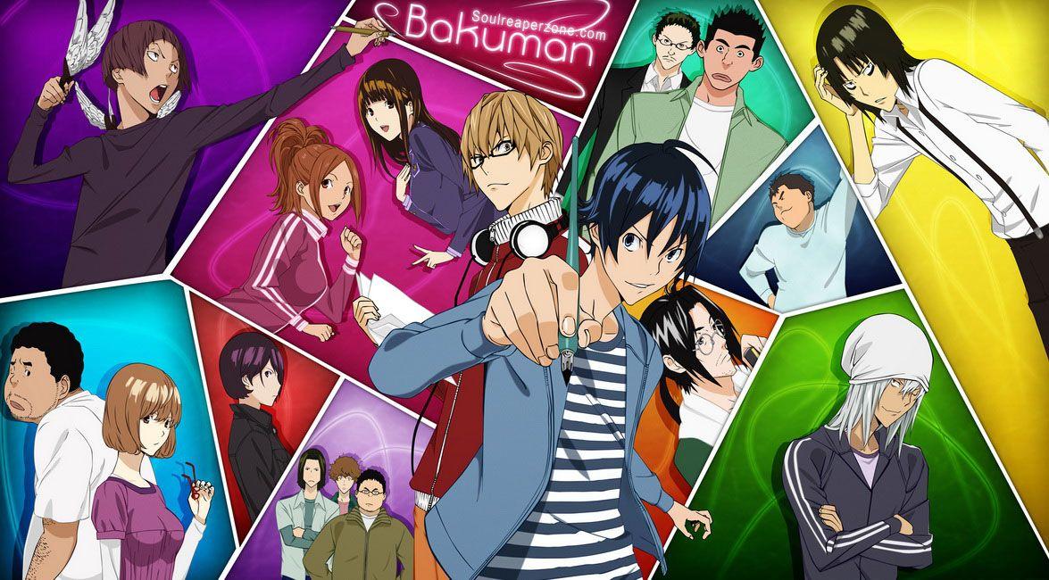 Bakuman Bluray Bd Soulreaperzone Free Mini Mkv Anime Direct Downloads Anime Anime Shows Air Gear Anime