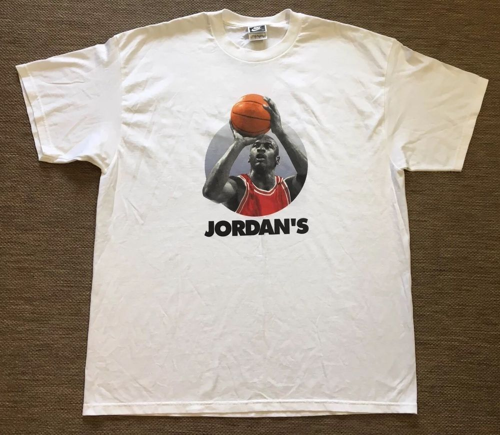 39ecfc2412ac Michael Jordan He s Back 45 Nike Made In Usa XL T-shirt Vintage chicago   MichaelJordan