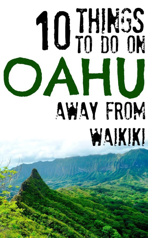 Things To Do On Oahu Hawaii Away From Waikiki Hawaii - 10 things to see and do in honolulu