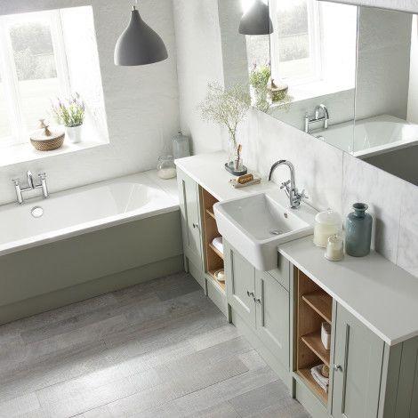 fitted bathroom furniture ideas. Burford Pebble Grey Fitted Bathroom Furniture | Roper Rhodes Ideas E